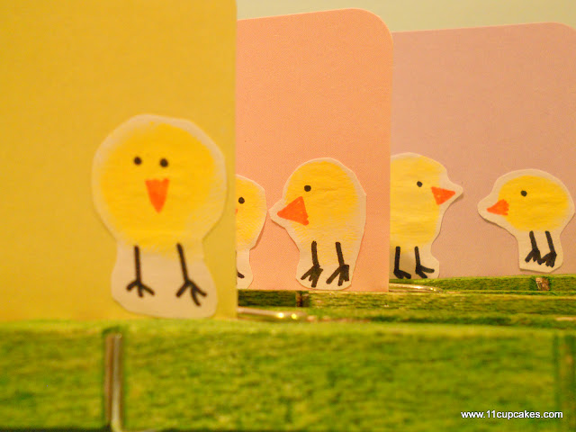 Easter Thumbprint Chicks, Easy DIY Kids Easter Project
