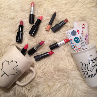 Favourite Canadian lipsticks