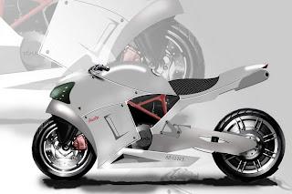 Audi RB-1200 Garvin Harvey Sportbike Concept