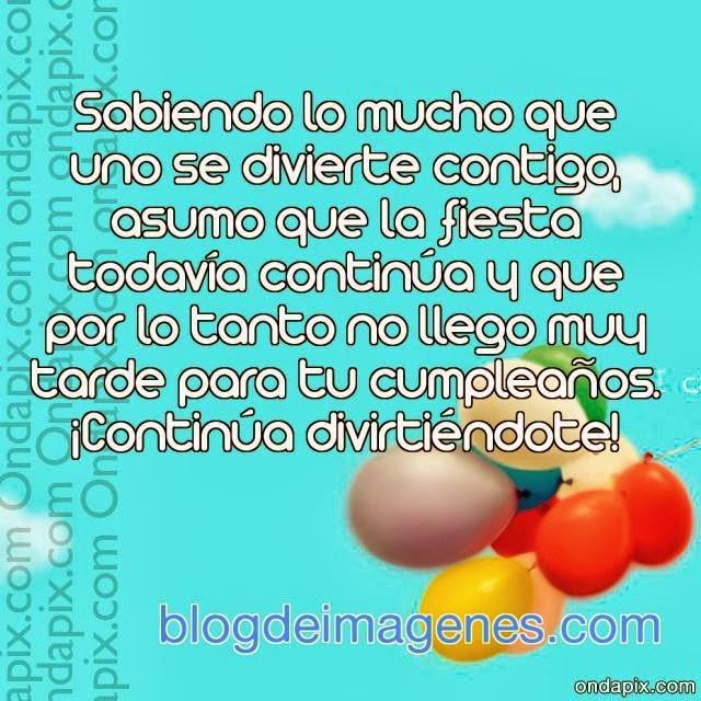 Tarjetas Y Postales Cumpleanos Atrasado Blog De Imagenes