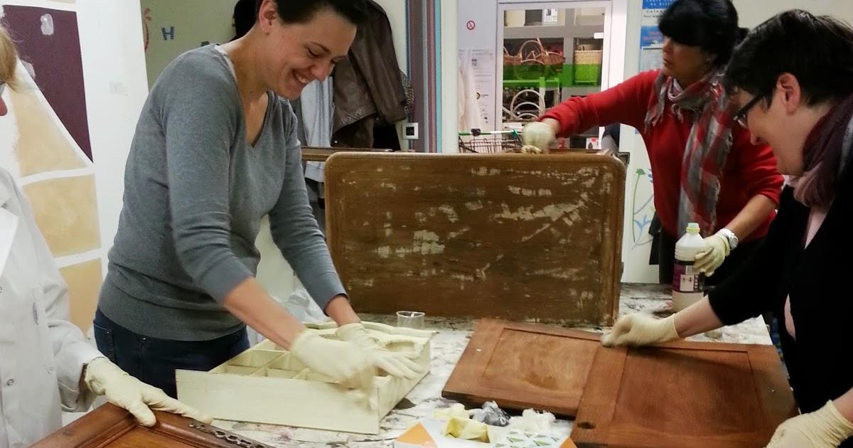Cours de peinture sur meuble repeindre portes cuisine ch ne - Cours de bricolage castorama ...