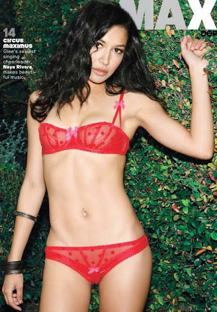Naya Rivera on Maxim
