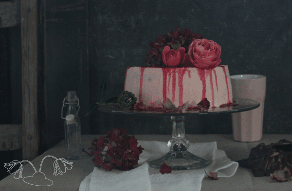 raspberry cream cake flowerhatbakery recipe
