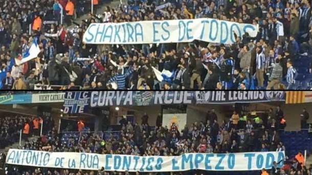 Fernández Borbalán no quiso saber nada de las pancartas