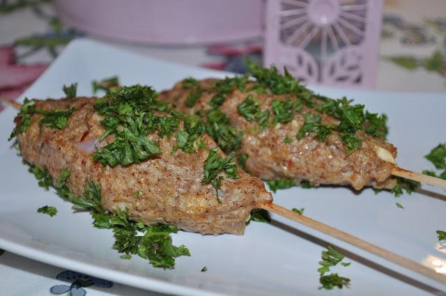 Kyllingkebab på grillen – eller i ovnen