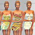 New Short Summer Dresses Set || Female Fashion || Clothing || The Sims 4