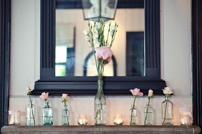 decoracao casamento garrafas de vidro:Ideias para casamento e festa: Abuse de garrafas de vidro na