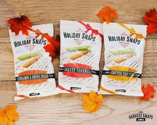 Harvest Snaps are high in protein and fiber, gluten-free, baked, and even low in sodium and fat!
