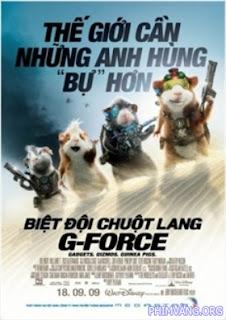 Biệt Đội Chuột Lang 2009 - G-Force 2009