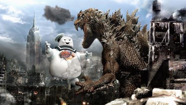 Godzilla Vs. Marshmallows