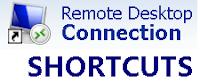 Windows Remote Desktop Shortcut