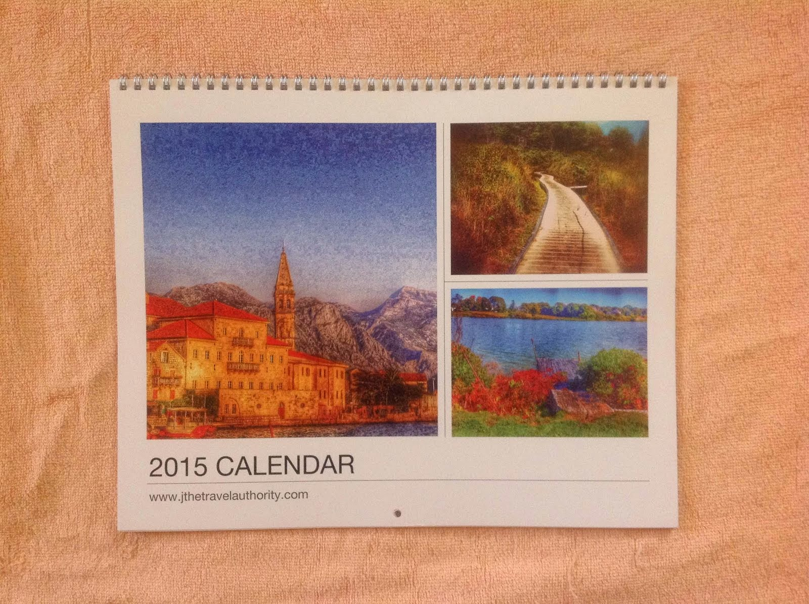 BUY: TRAVEL WALL CALENDAR