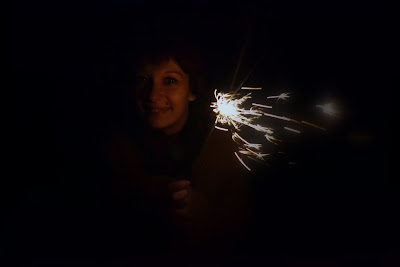 new years sparklers