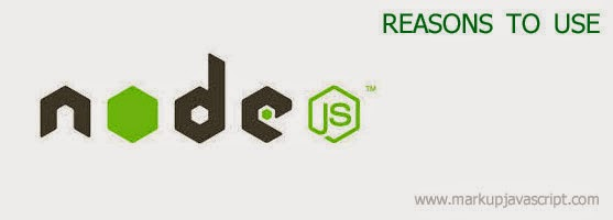 node.js and reasons to use it