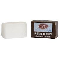 Piedra de alumbre desodorante, 80gr, Najel
