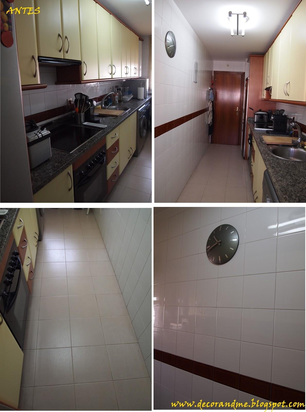 Decor me diy cambia tu cocina por poco dinero - Cambiar azulejos cocina ...