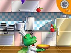 Nhà bếp vui nhộn, game tre em