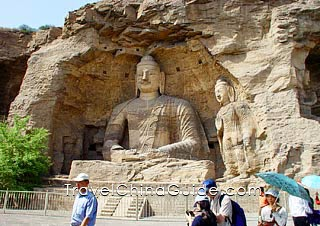 Buddha Statue, Yungang Grottoes, Datong