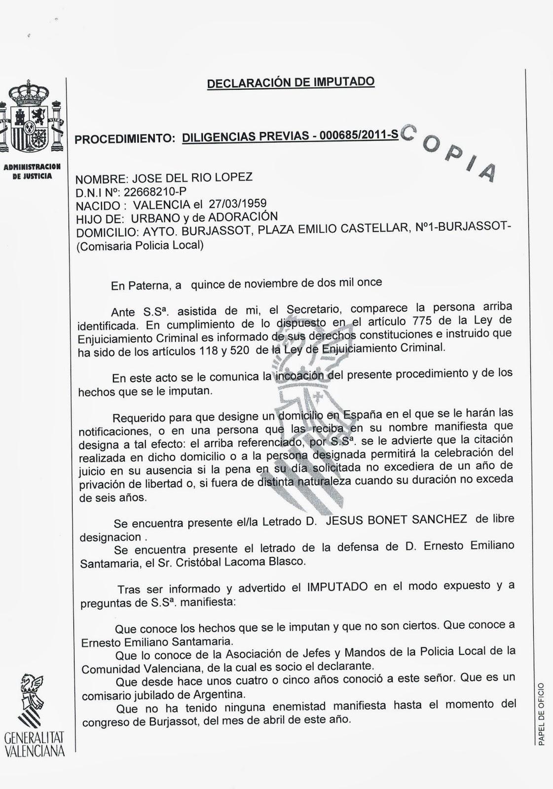 PROCEDIMIENTOS POLICIALES DIRECCION INTERNACIONAL SEDE CENTRAL ...