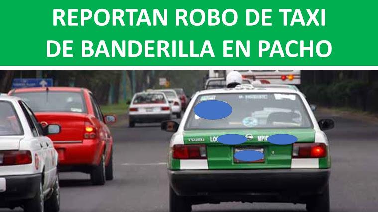 TAXI ROBADO
