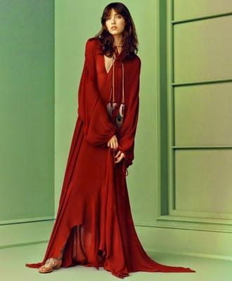 Zara primavera verano vestido 2015
