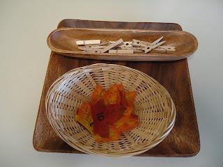 Montessori Inspired Leaf Math. Photo via To The Lesson