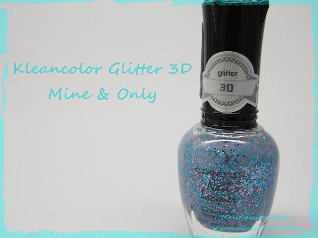 Kleancolor Gliter 3D Mine & Only 1