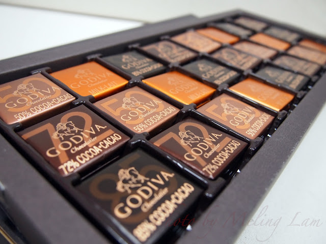 godiva chocolate dark chocolate truffle carre 母親節