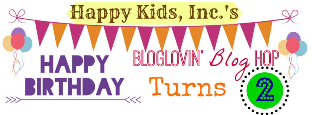 Bloglovin Blog Hop Link Up Happy Kids Inc blogging