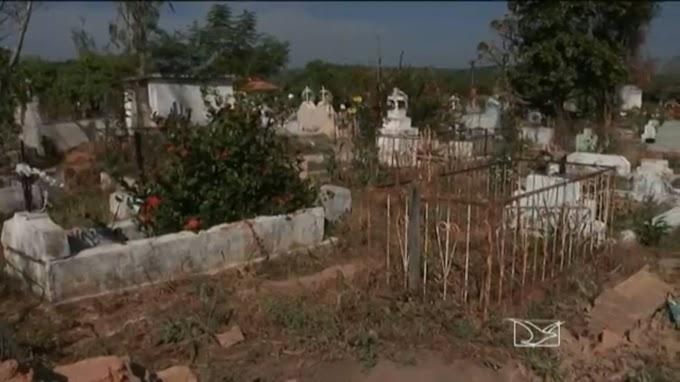 Cemitério abandonado vira refúgio de vândalos em Caxias, MA