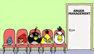 Angry Birds Need Anger Management Funny