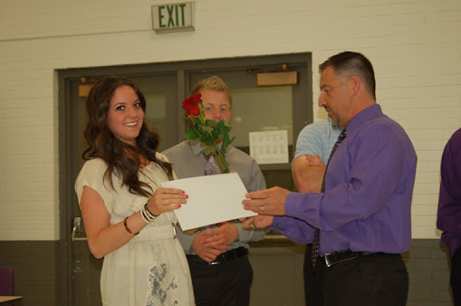 2011-12 Mat Maid Award - Dania Rice