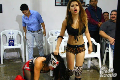 Lady Jaguar-Mexican Wrestling