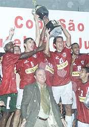 Campeã Taça SP 2002