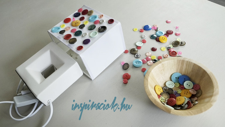 kreatív ötletek gombokból