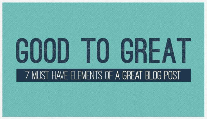 The art and science of a perfect blog post - infographic