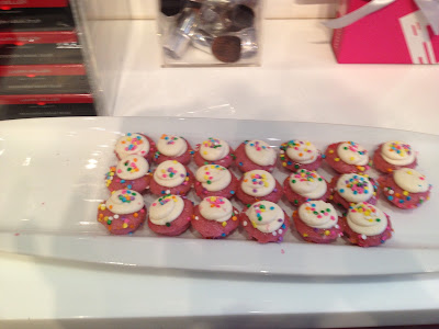 Baked by Melissa Cupcakes at Laura Geller & Birchbox Event