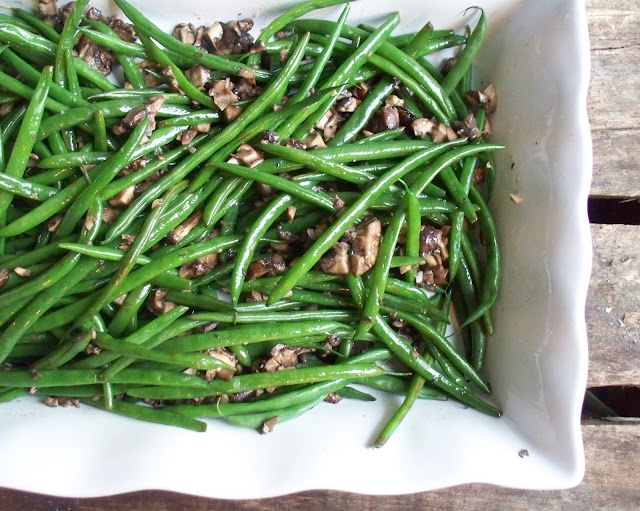 The Urban Poser:: French Green Bean Casserole W/Crispy Shallots (Gaps ...