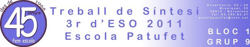 TS 3r d'ESO 1011 Bloc 1 - Grup 9
