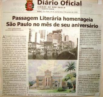 sinval medeiros no Diario oficial do municipio de s paulo