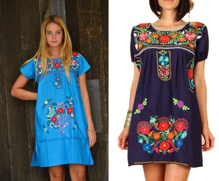 Pero hoy quiero compartirles mi hallazgo de Facebook \u201cBlusas y Vestidos Mexicanos\u201d es la página y desde Tigre venden para todo el país estas prendas