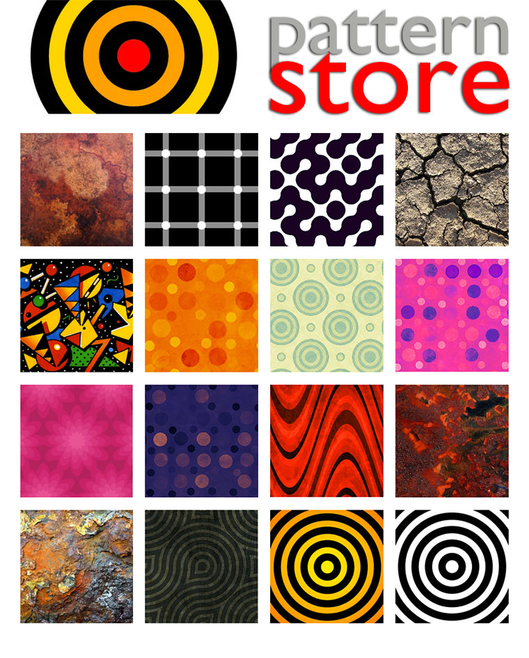 patternstore, paul stickland, zazzle