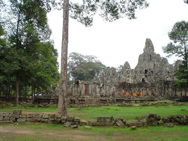 Monjes Templos de Angkor - Camboya