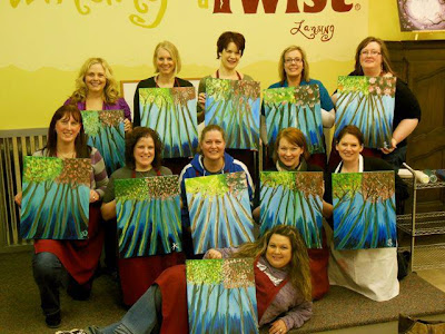 Mothers of multiples greater genesee county painting for Painting with a twist fenton mi