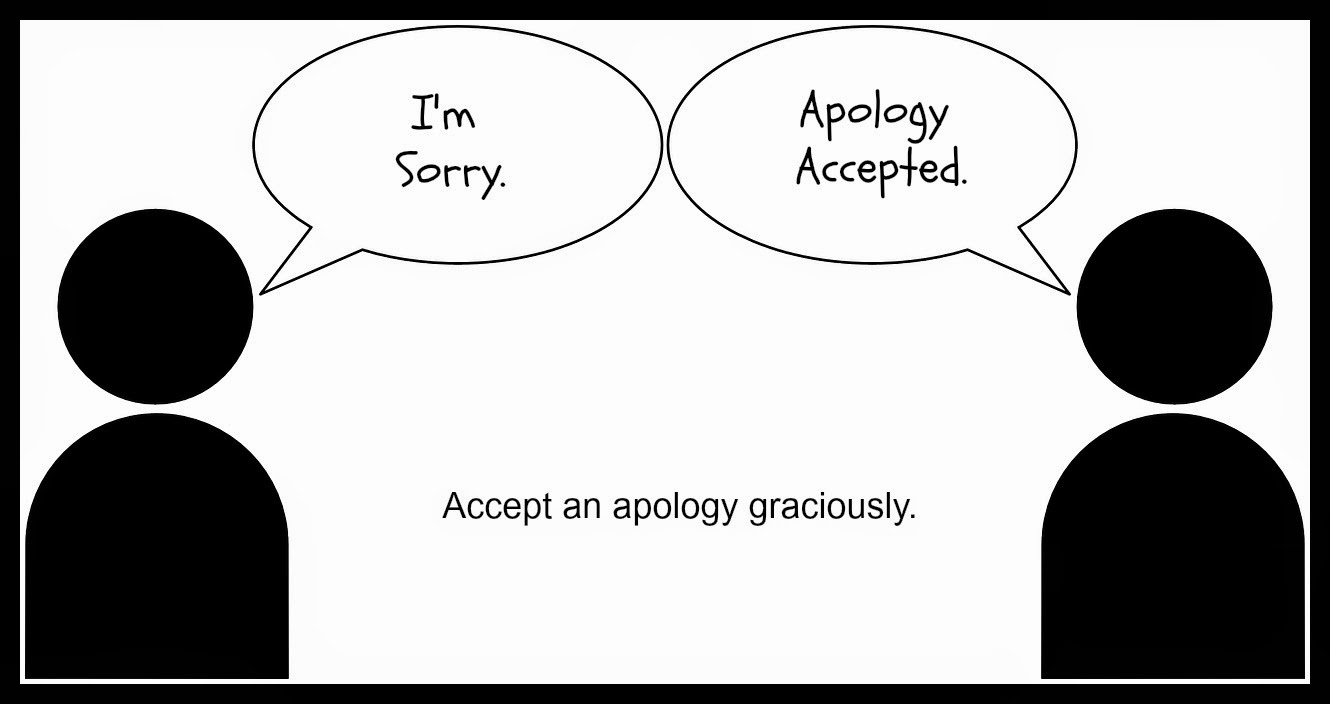 I'[m Sorry Apology Accepted