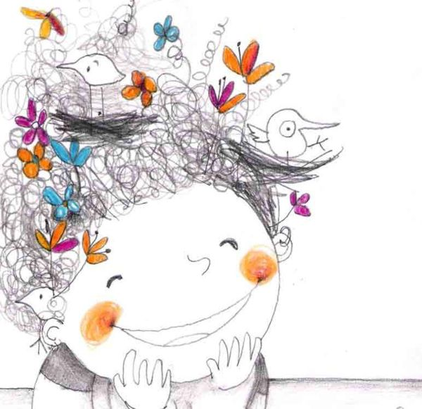 Bibliopeque- ilustración de  de Francesca Quatraro