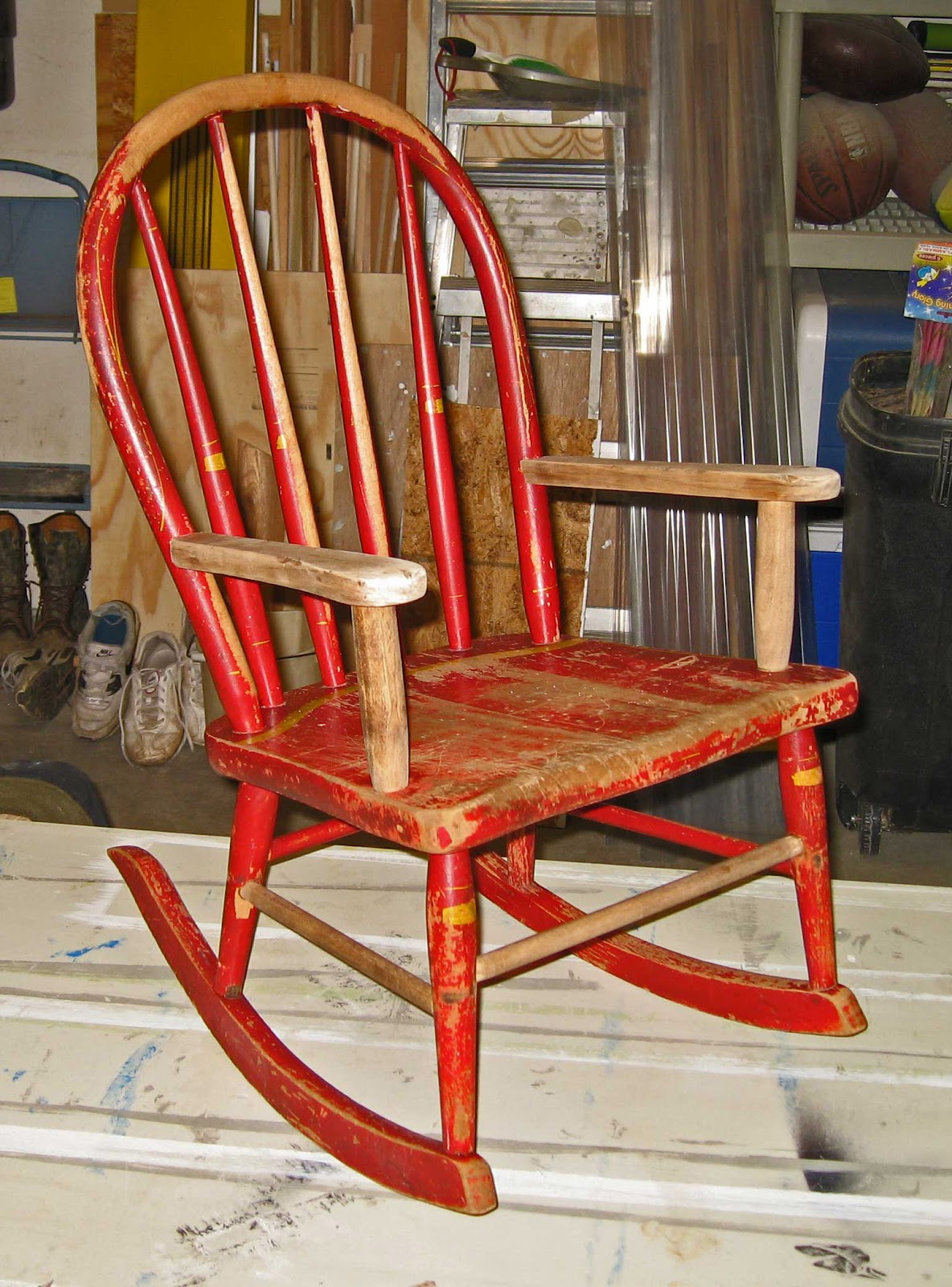 Lobster Trap Rocking Chair   Lobster House