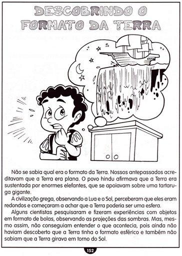 ATIVIDADES DE CI  NCIAS  UNIVERSO  SISTEMA SOLAR  MOVIMENTOS DA TERRA