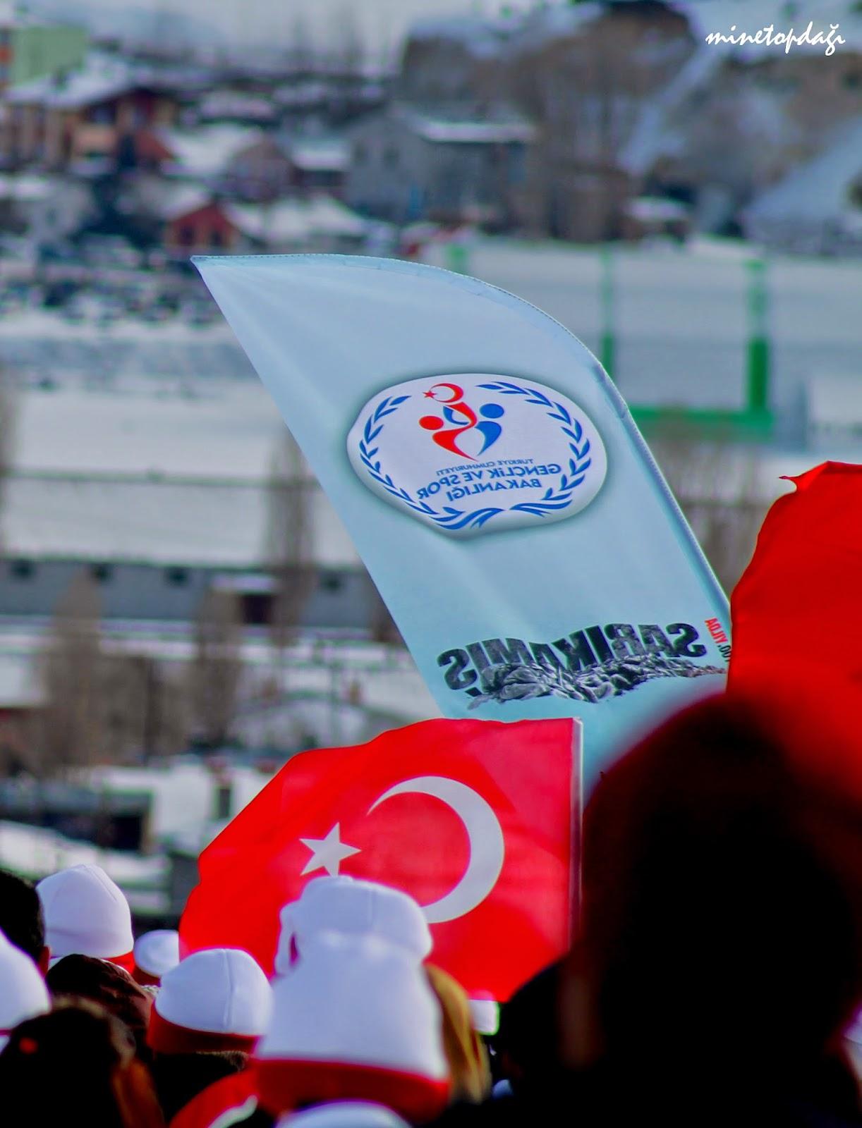 Gençlik ve Spor Bakanlığı Sarıkamış Asrın Yürüyüşü