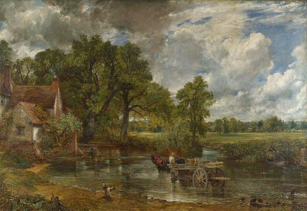 John Constable The Haywain Paintings of Spring: J...